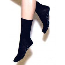 Ulla Black Wool Sklisikre sokker